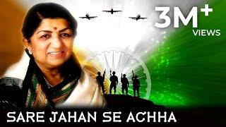 Lata Mangeshkar Sare Jahan Se Achha - YouTube