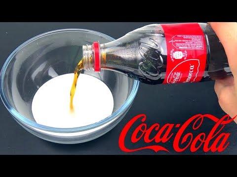 ¿Se puede hacer SLIME con COCA COLA?   Experimento