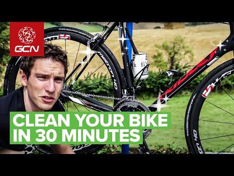 Πως να καθαρίσετε το ποδήλατο σας
