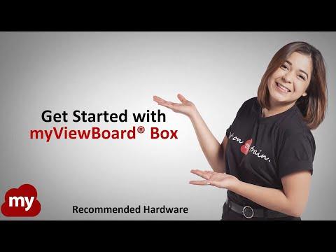 ViewSonic Commerciële display-accessoires myViewBoard Box (VBS100)