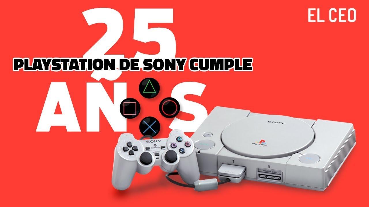 ¡Felices 25 años, PlayStation!