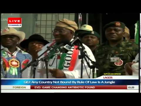 Dr. Jonathan Goodluck at the Campaign trail - My Generation Has Failed Nigerians