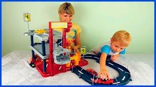 Машинки для детей  Гаражи и Паркинги для машинок  Все серии подряд  Весёлые детские видео