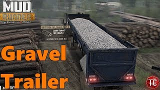SpinTires Mud Runner: Western Star, GRAVEL HAULING JOB/MOD + MAP w/ LOTS OF NEW FEATURES!