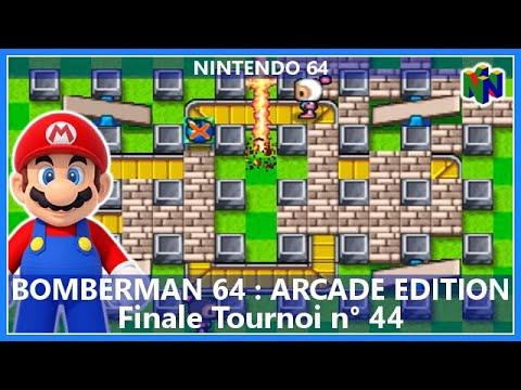Tournoi : Bomberman 64 - Arcade Edition - N64