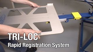 Tri-Loc - M&R Screen Printing Equipment - Rapid Registration System