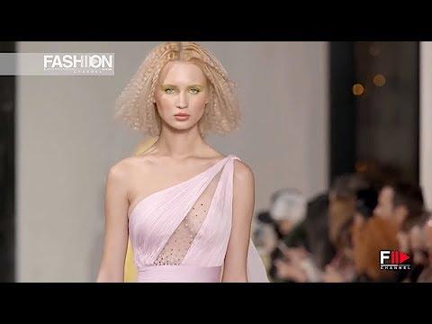 GEORGES CHAKRA Haute Couture Spring 2019 Paris - Fashion Channel