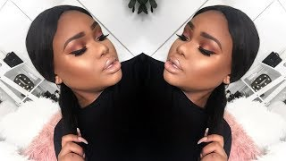 MY UPDATED FOUNDATION, HIGHLIGHT & CONTOUR ROUTINE (WOC)