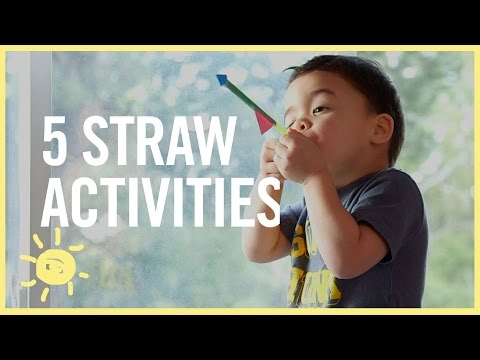 PLAY | 5 STRAW ACTIVITIES!