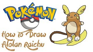 How To Draw Alola Form Raichu मफत ऑनलइन