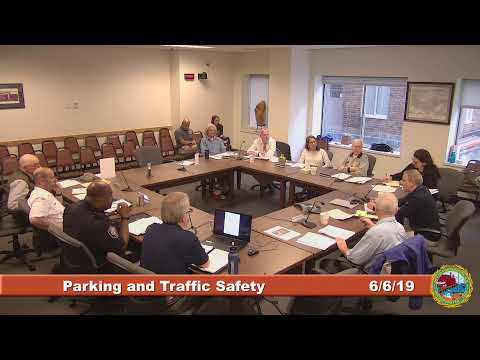 Parking and Traffic Safety Committee 6.6.2019