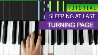 Sleeping At Last   Turning Page   PIANO TUTORIAL
