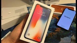 Купил iPhone X - распаковка, первые впечатления!