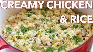 Dinner: Creamy Chicken And Rice (Plov) - Natashas Kitchen