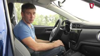 Автополигон TOYOTA AURIS Hybrid
