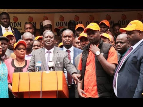 Raila's fury over insider bungling of party poll   PRESS REVIEW