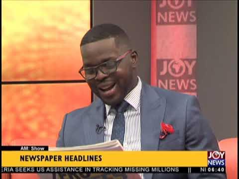 Brouhaha Over Digital Terrestrial TV  - AM Show Headlines on JoyNews (24-9-18)