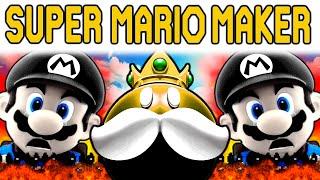 Super Mario Maker | THE SUPER EXPERT RAGE OF 100 MARIOS