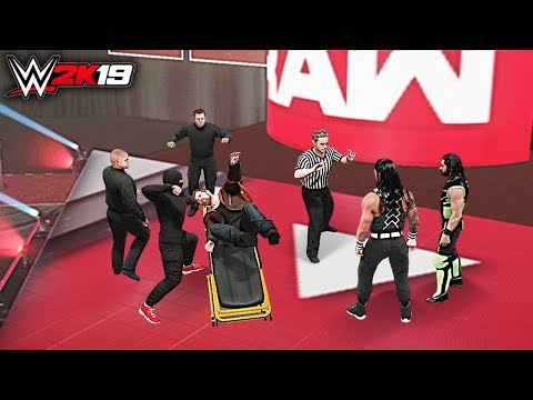 WWE 2K19 Custom Story - Raw After Wrestlemania 35 The Shield Celebrations Gone Wrong! Part 2