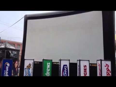 Cine Móvil al aire Libre en Zaragoza, Chimaltenango