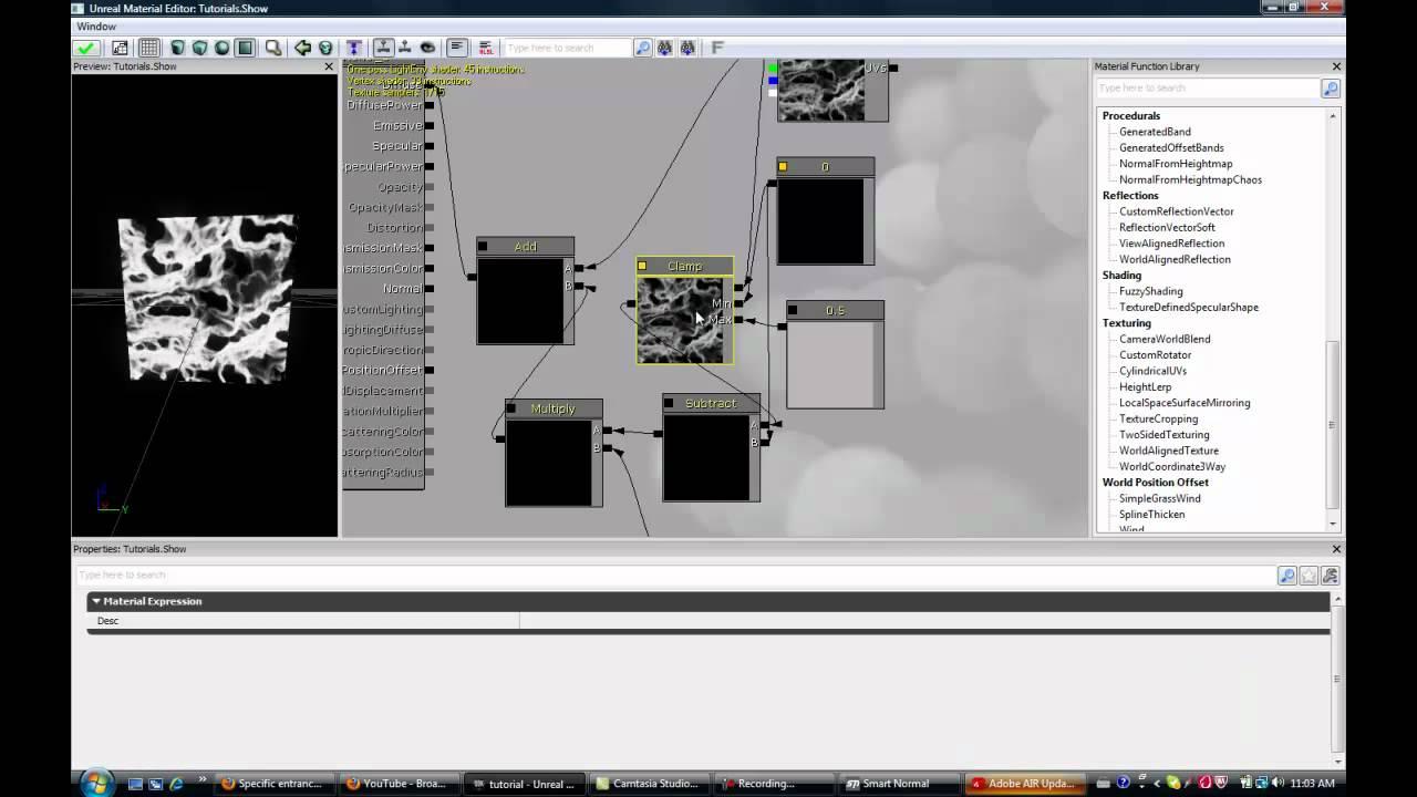 UDK Landscape Tutorials Video 5 Touch ups