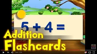 Practice Flashcards | Addition From 0 To 9 | Sum Of 10 Or Less