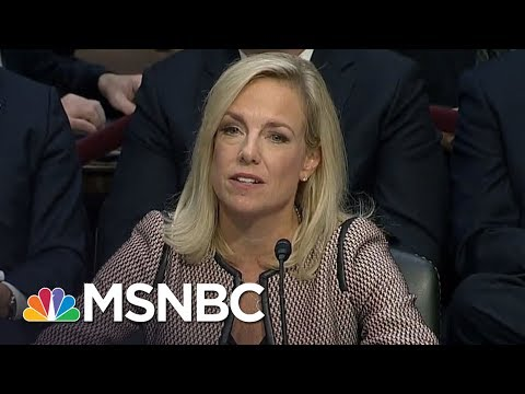 Lawrence: DHS Secretary 'Trying To Protect Donald Trump' With Falsehoods | The Last Word | MSNBC