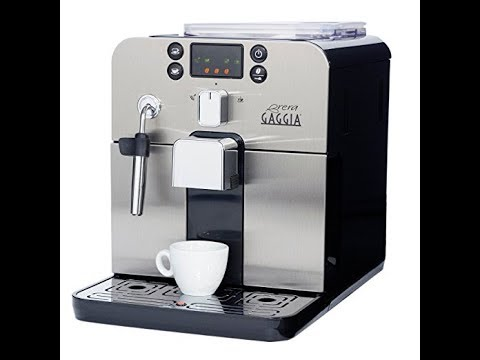 , Gaggia Brera Super Automatic Espresso Machine in Black. Pannarello Wand Frothing for Latte and Cappuccino Drinks. Espresso from Pre-Ground or Whole Bean Coffee. review