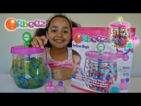 Best for Kids Orbeez Perfume Magic Unboxing Review