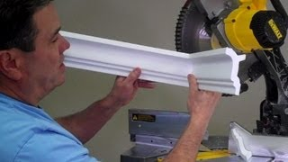 How to cut an inside crown molding corner by Creative Crown