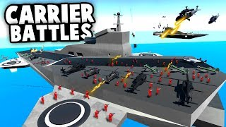 NEW Helicopter CARRIERS and AIRSHIPS! Epic Aerial BATTLES! (Ravenfield Best Mods)