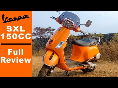 Piaggio Vespa sxl 150 | Full Review | All You need to know..!!
