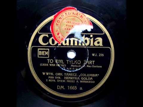 To byl tylko zart - Henryk Gold, 1932.avi