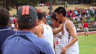 2012  Punahou Cross Country Team Goes to States on the BIg Island