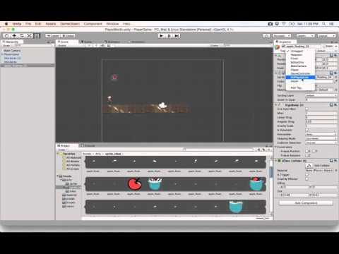 19- Unity 2D|| Apple Shoot وقوع الثمرات