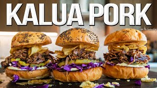 The Best Kalua Pulled Pork (+ Hawaiian Style Sliders) | SAM THE COOKING GUY 4K
