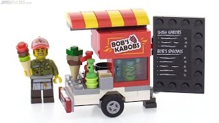 LEGO Bobs Kabobs Food Cart MOC!