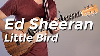 Ed Sheeran - Little Bird (Guitar Tutorial) by Shawn Parrotte