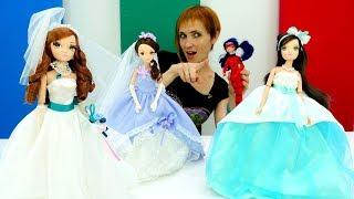 Видео для девочек - Делаем платье для Леди Баг с Машей