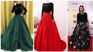 New Latest Skirts Blouse Designs Collection For Girls