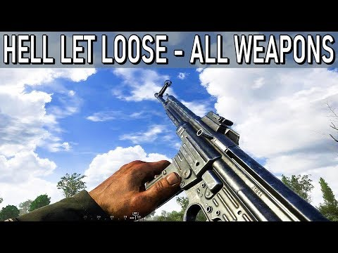 Hell Let Loose - All Weapons