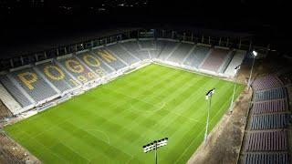 Film do artykułu: Stadion Pogoni dzień przed...