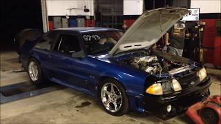 1990 Mustang GT On3 Performance Turbo Stock Block/Cam 539HP 602TQ Aug 14