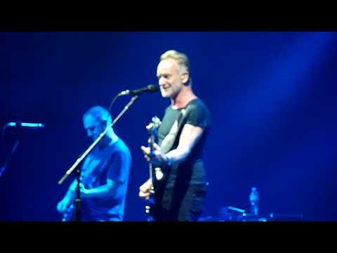 Sting - Message in a bottle - live in Sofia, 01.06.2019 HD