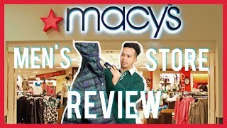 Macy's Store Review (Polo, Tommy Hilfiger, Nautica, Levis)