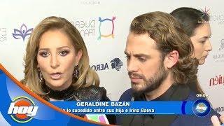 Geraldine Bazán reacciona a las fotos de sus hijas conviviendo con Irina Baeva   Hoy