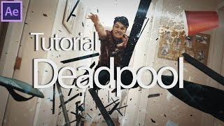 Efeitos Adobe After Effects - Tutorial: Deadpool/Mercúrio