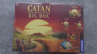 CATAN - Big Box Opening
