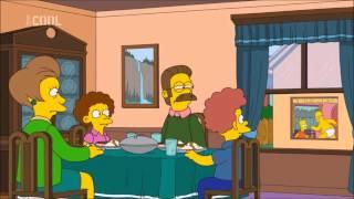 Simpsonovi S23E21 - Tajnosti Neda a Edny (Houmer tlustoprd)