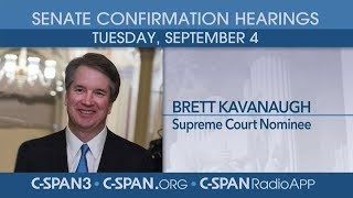 LIVE: Confirmation hearing for Supreme Court nominee Judge Brett Kavanaugh (Day 1)